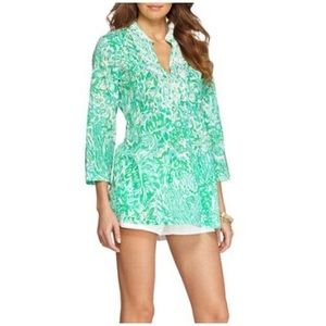 Gorgeous Lilly pulitzer beaded tunic
